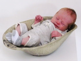 Ceramic Baby Belly Bowl