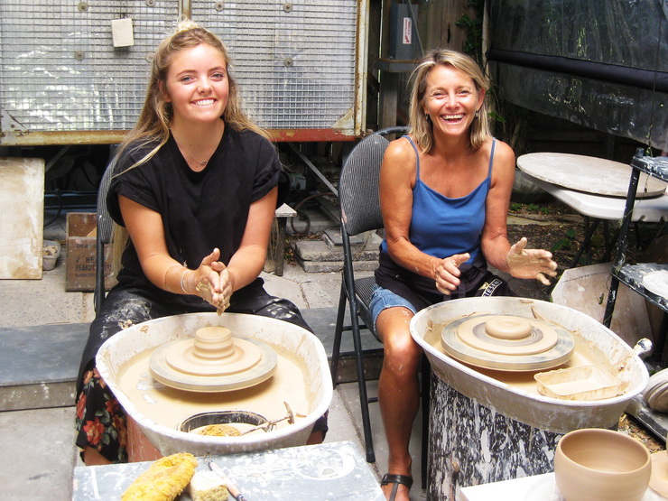 Pottery Classes Students