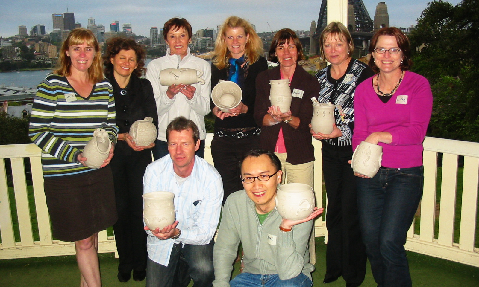 Sydney Team Building Pottery Workshop