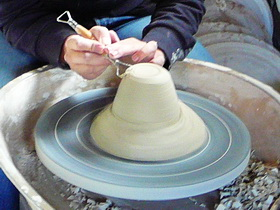 Pottery Wheel Turning Class
