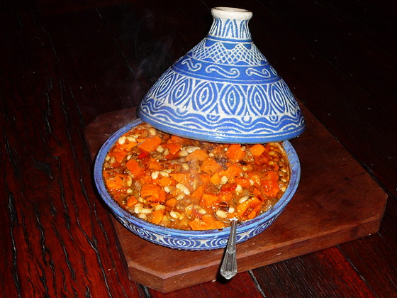 Clay tagine food