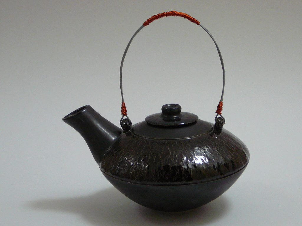 Advanced Pottery Wheel Class Glazed Ceramic Teapot
