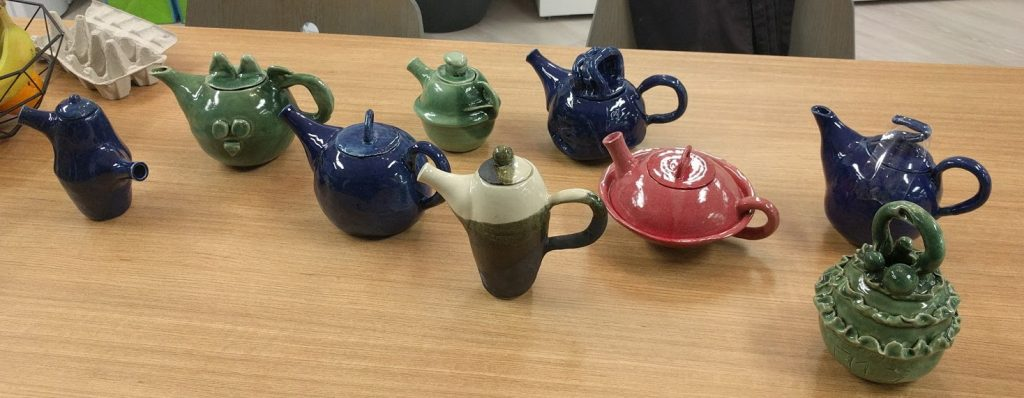 Teapots Completed