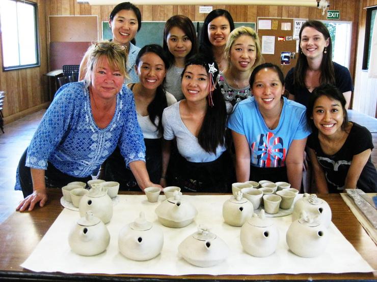 Hens Party Teapots student testimonials