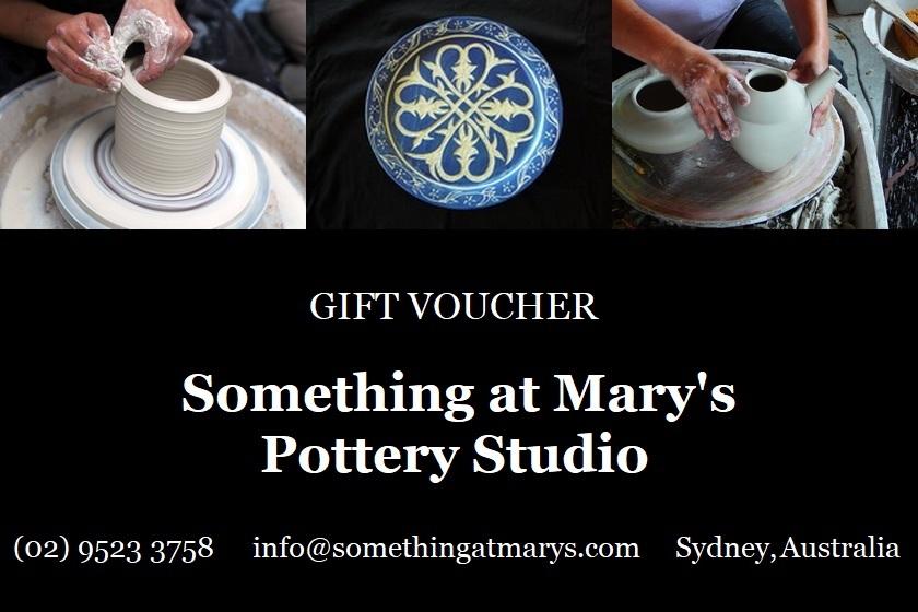 Pottery Class Gift Voucher